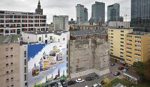 Warszawa. Śródmieście. Nowy mural przypomina o społeczności żydowskiej