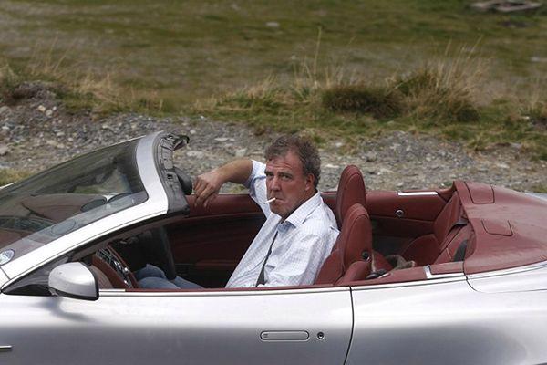 Jeremy Clarkson za kierownicą Astona Martina