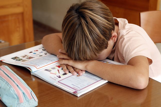 Dzieci dostają coraz gorsze oceny