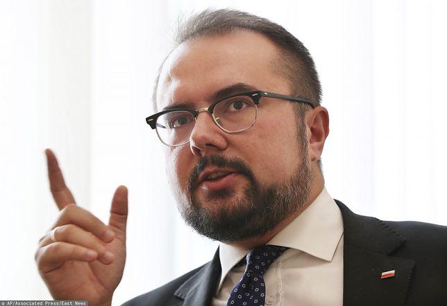 Wiceminister spraw zagranicznych Paweł Jabłoński odpowiada na list otwarty ambasadorów ws. LGBT
