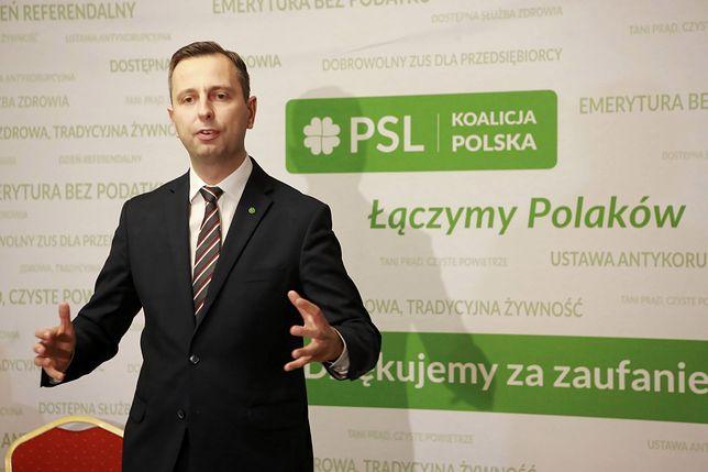 Władysław Kosiniak-Kamysz walczy o urząd prezydenta. Ruszył z prekampanią