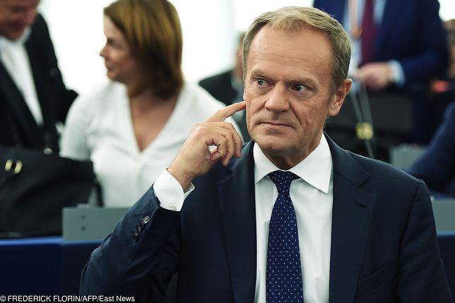 """Donald Tusk skomentował konwencję PiS-u. """"Kompetencje nie te"""""""