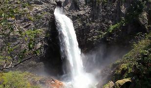Wodospad Manafossen ma 92 metry wysokości