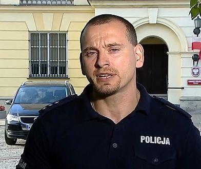 Kom. Marczak zapewnia, że policja była profesjonalna