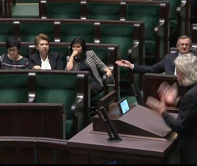 Awantura w Sejmie o żeńską końcówkę. Małgorzata Gosiewska: Ja sobie nie życzę