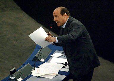 Berlusconi: niemiecki eurodeputowany jak kapo
