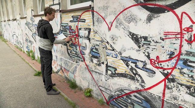 Szary mur szkoły zmienił się nie do poznania