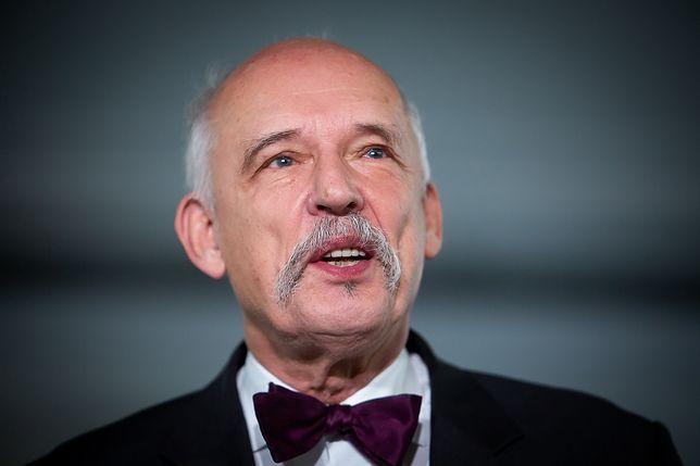 Janusz Korwin-Mikke został ukarany