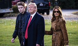 Koronawirus w rodzinie Donalda Trumpa. Melania ujawnia szczegóły