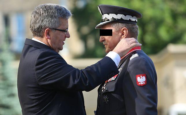 Generał Lech M. usłyszał zarzuty