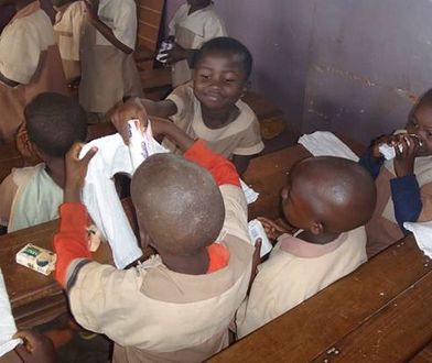 """""""Podaj mydło!"""" - akcja fundacji z Poznania dla Afryki"""