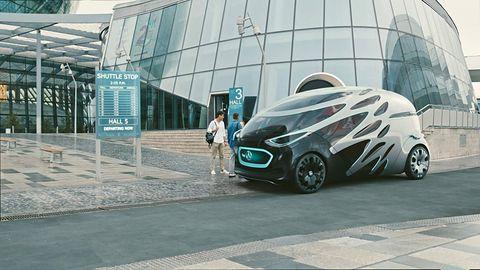 Samochód przyszłości jak szwajcarski scyzoryk! Oto projekt Mercedesa