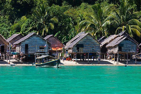 Wyspa KO SURIN w Tajlandii