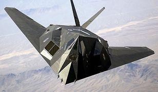 """F-117 jest jednym z samolotów tzw. """"black project"""""""