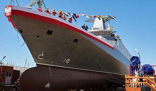 Flagowy okręt Polski - ORP Ślązak - opóźniony. Kary mogą sięgnąć setek milionów