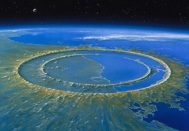Krater Chicxulub powstał po uderzeniu ogromnej asteroidy