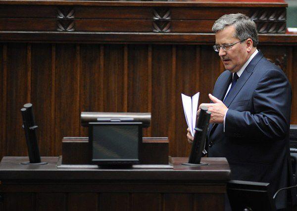 Prezydent zapowiada zmiany w prawie o zgromadzeniach
