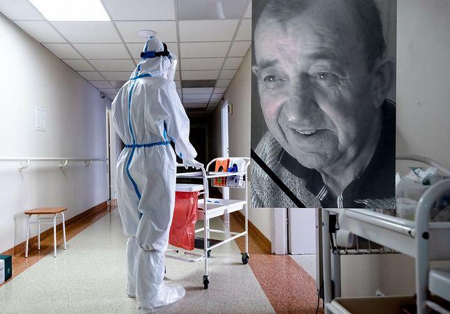 Koronawirus. Rodzina skarży szpital za zakażenie seniora w trakcie leczenia. Na fotografii zmarły na COVID Czesław Zawadzki z Łodzi