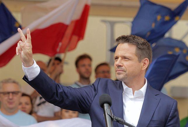 Wybory 2020. Po zakończeniu wiecu Rafała Trzaskowskiego w Suwałkach doszło do incydentu