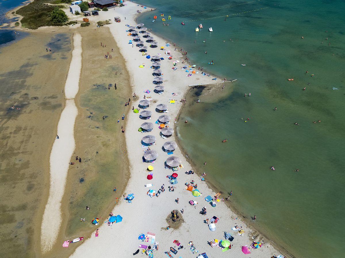 Plaża w Ninie jest piaszczysta