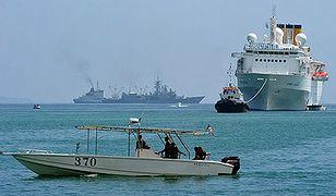 Costa Allegra przybiła do portu