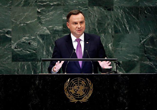 Prezydent Andrzej Duda na szczycie ONZ