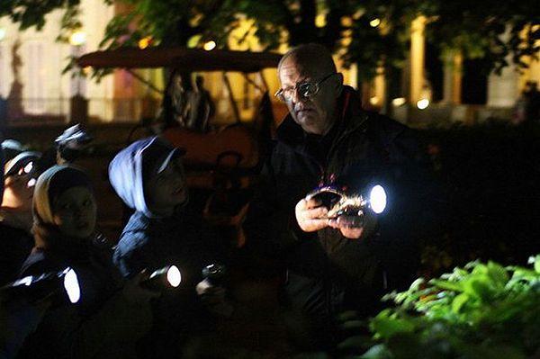 Noc Duchów w warszawskich Łazienkach Królewskich