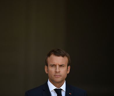 Emmanuel Macron traci na popularności. Nie pomaga mu nawet prezydencki makijaż