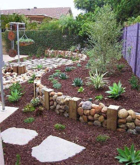 Kamienne dekoracje w ogrodzie