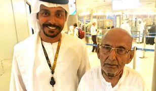 Mnich z Kalkuty. Jego wiek sprawił, że pracownicy lotniska przecierali oczy ze zdumienia