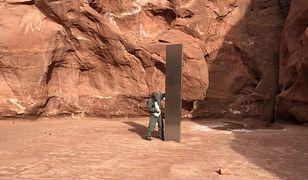 Monolit na pustyni Utah. Turyści już go wytropili