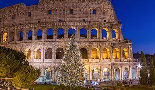 Słoneczny Rzym w zimowej odsłonie