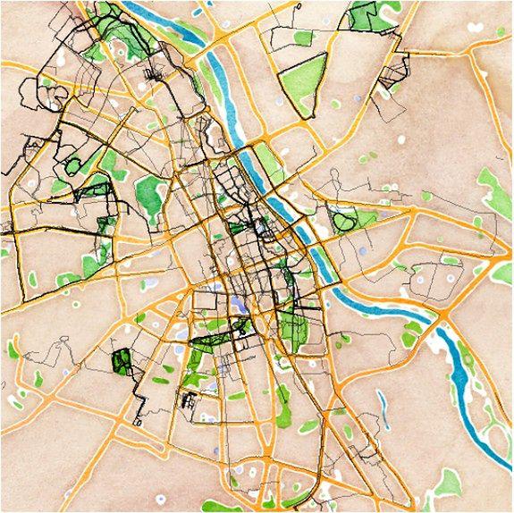 Najpopularniejsze trasy biegowe w Warszawie [MAPA]