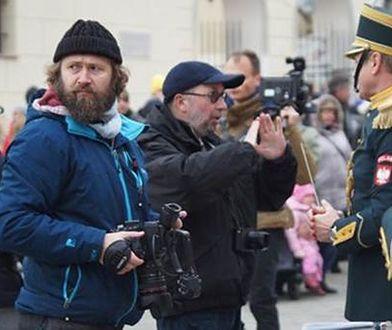 Aktorzy, kostiumy, kamera. Ślesicki kręci w Warszawie nowy film?