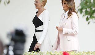Melania Trump i Agata Duda w Waszyngtonie