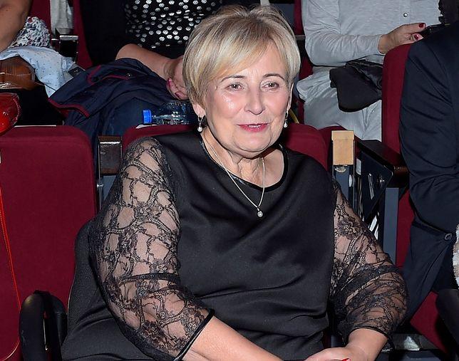 Krystyna Przybylska, mama Anny Przybylskiej, jest w szpitalu