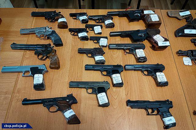 CBŚP zabezpieczyła broń