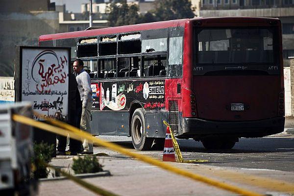 Zamach na autobus w Kairze