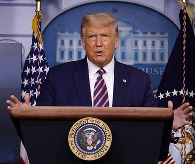 USA. List z rycyną adresowany do Donalda Trumpa