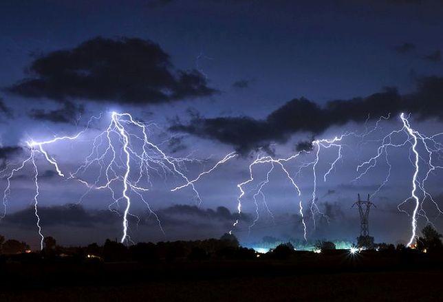 Groźne burze nad Tatrami.