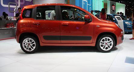 IAA Frankfurt 2011: Zupełnie nowy Fiat Panda