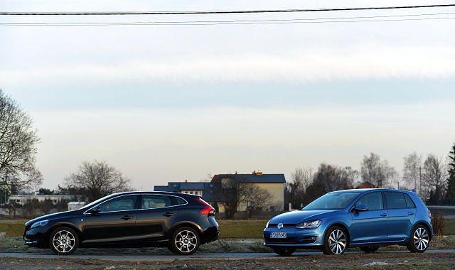 Volvo V40 D2 vs. VW Golf 1.4 TSI: podobna filozofia, odmienne charaktery