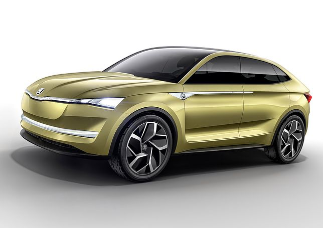 Elektryczny SUV coupe