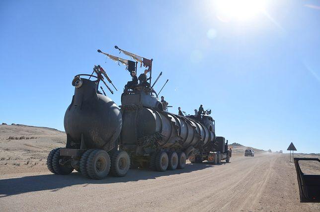 Western na kołach w Namibii