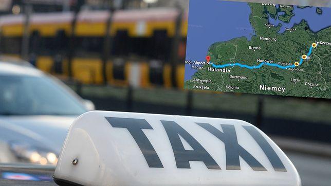 Podróże taksówką na kilkaset kilometrów? Czasem nie ma innej opcji. A czasem chce się po prostu komuś zaimponować