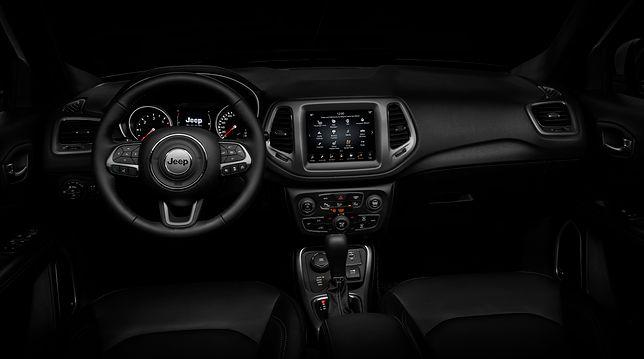 Wnętrze jeepa