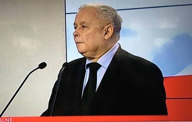 Co za wpadka Polsatu... Nie uwierzysz, jak dziennikarka zwróciła się do Kaczyńskiego