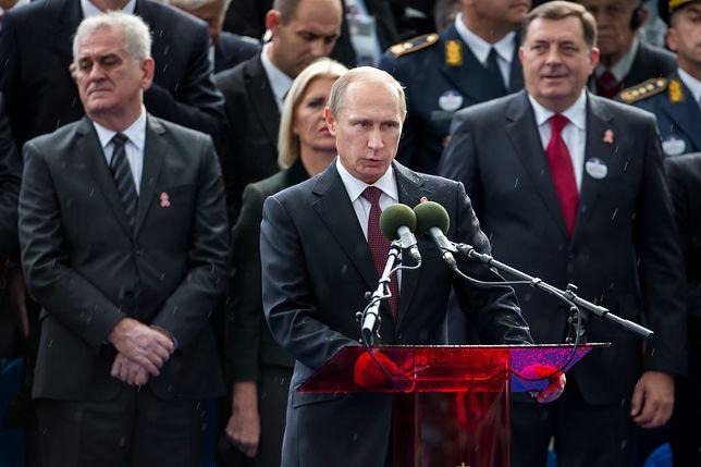 Putin marzy o rozpadzie Unii Europejskiej – takiego zdania jest Emmanuel Marcon