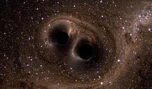 Czarna dziura pożarła gwiazdę. Znalazła się zbyt blisko supermasywnego potwora
