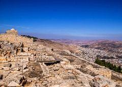 Sychem - ruiny starożytnego miasta na górze Garazim